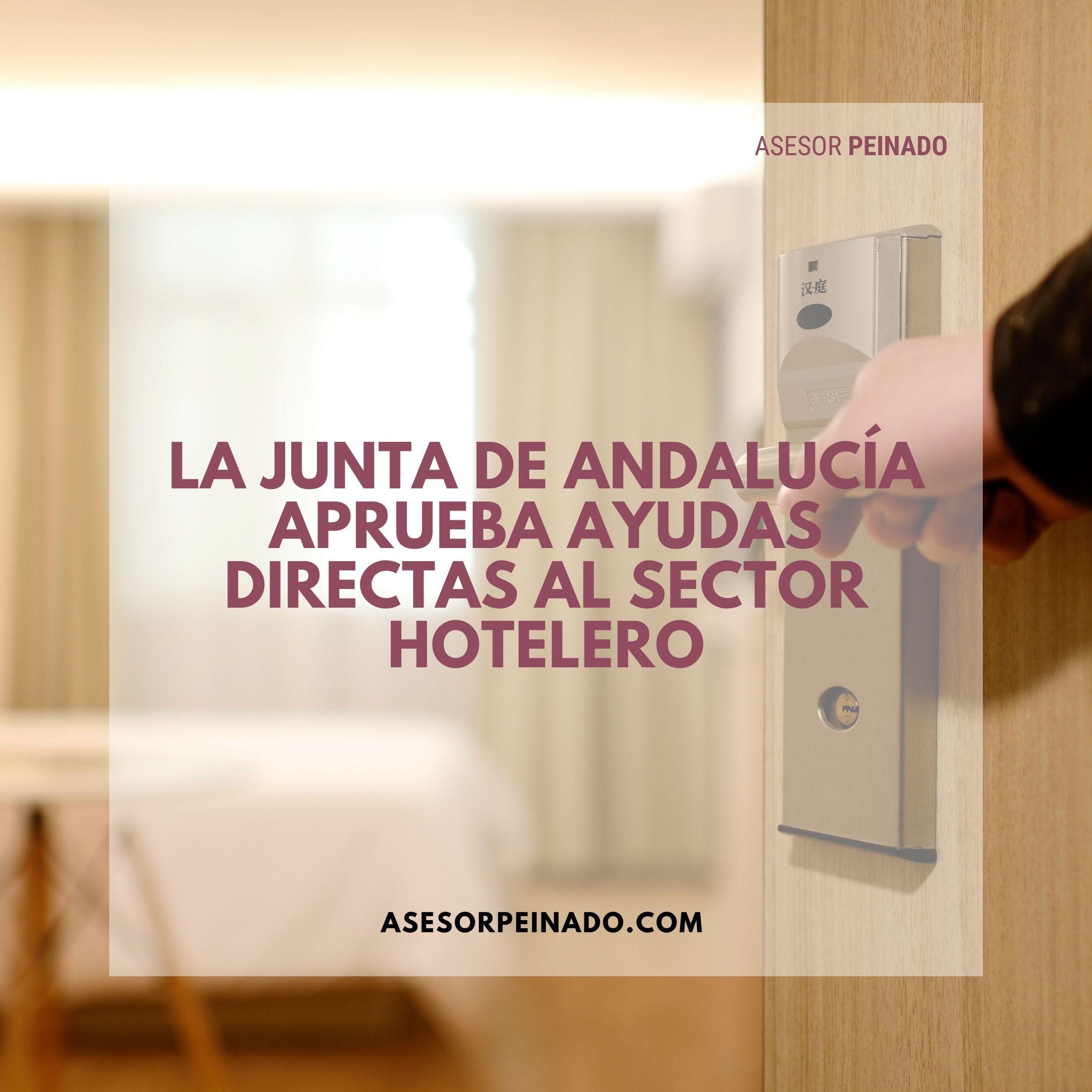 La Junta de Andalucía aprueba ayudas directas al sector hotelero